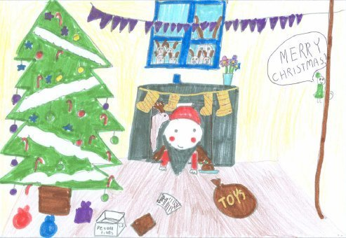 Harrow Pupil Wins Best Christmas Card Competition Harrow Online