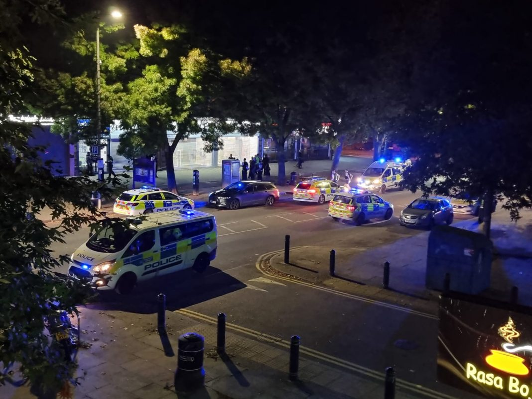 Group of males fight in Rayners Lane